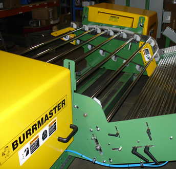 Burrmaster Wire Brush Deburring Machine